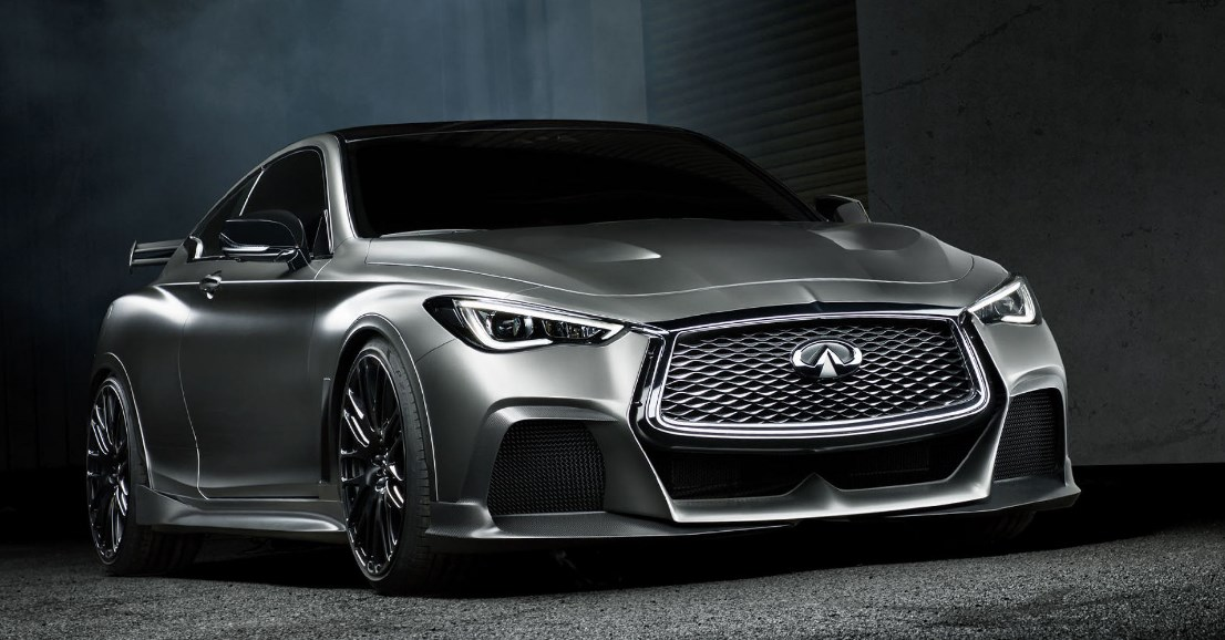 2019 Infiniti Q60 Black S Exterior