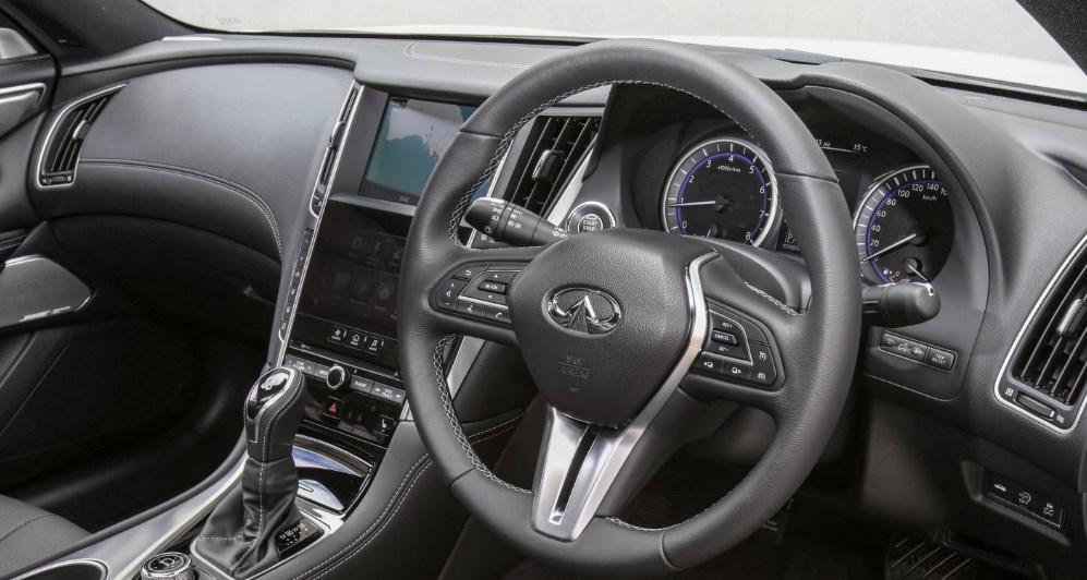2019 Infiniti Q60 Black S Interior