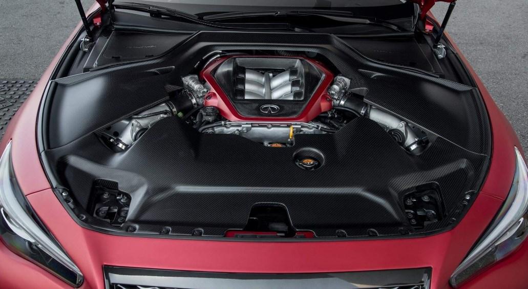 2019 Infiniti Q60 Red Sport Engine