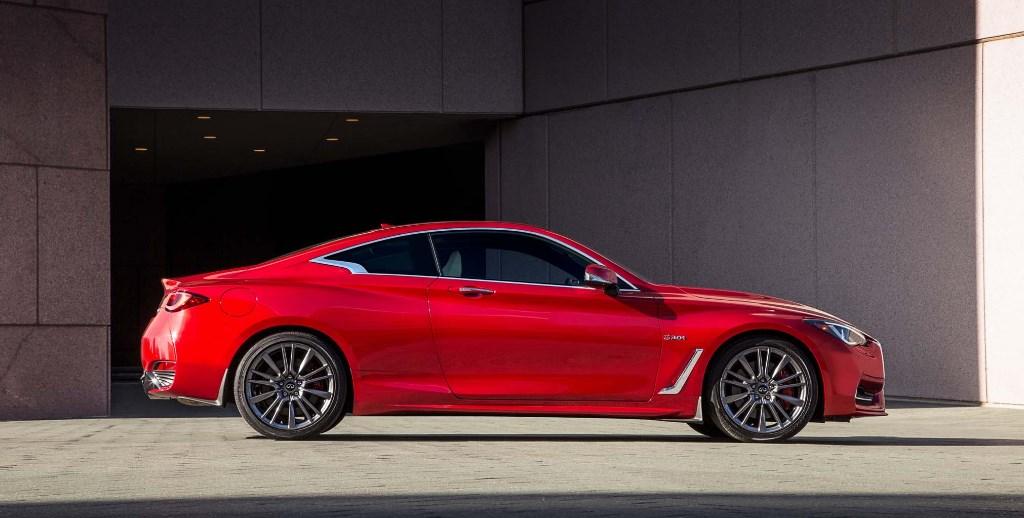 2019 Infiniti Q60 Red Sport Exterior