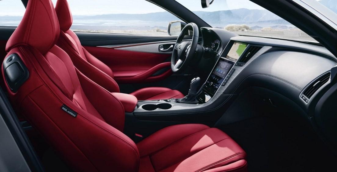 2019 Infiniti Q60 Red Sport Interior