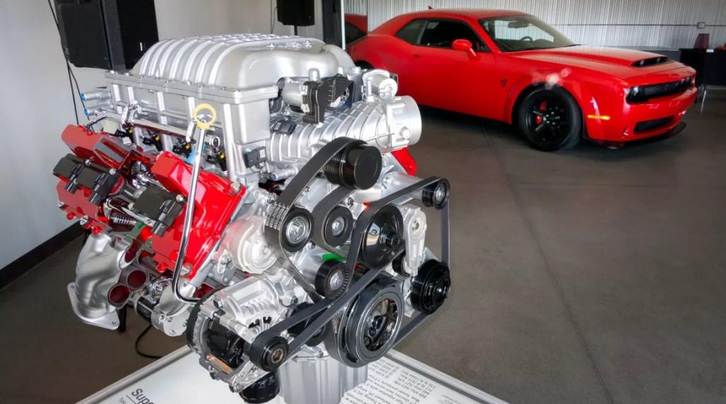 2020 Dodge Demon Engine