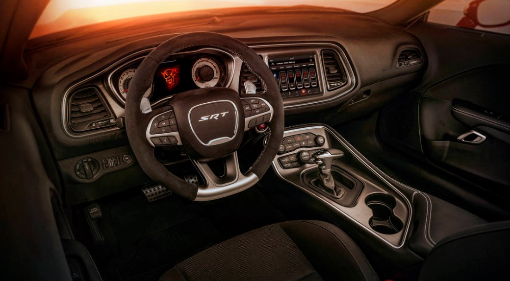 2020 Dodge Demon Interior