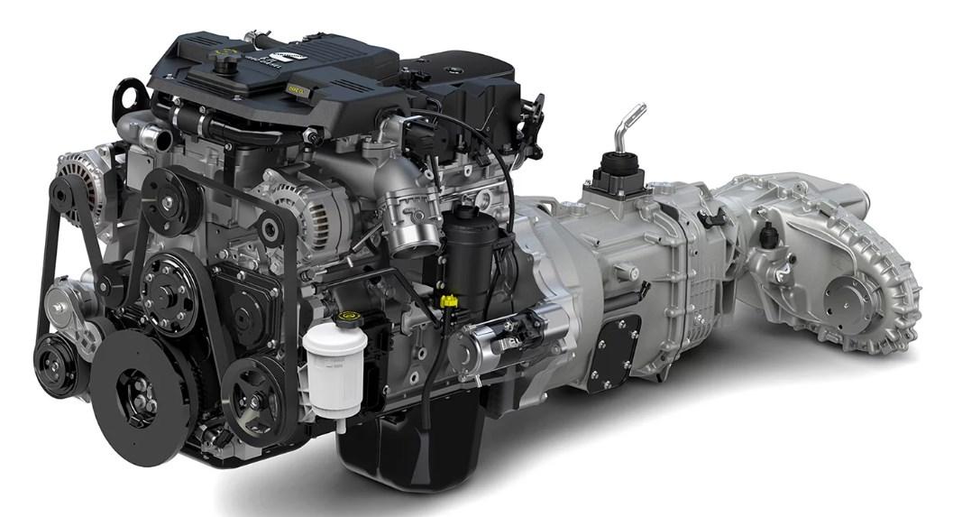 2020 Dodge Dually Engine