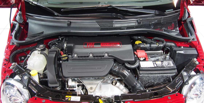 2020 Fiat 500 Abarth Engine