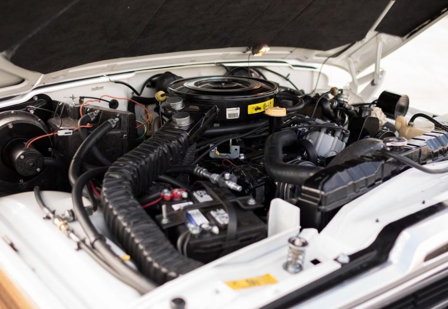 2020 Jeep Grand Wagoneer Engine