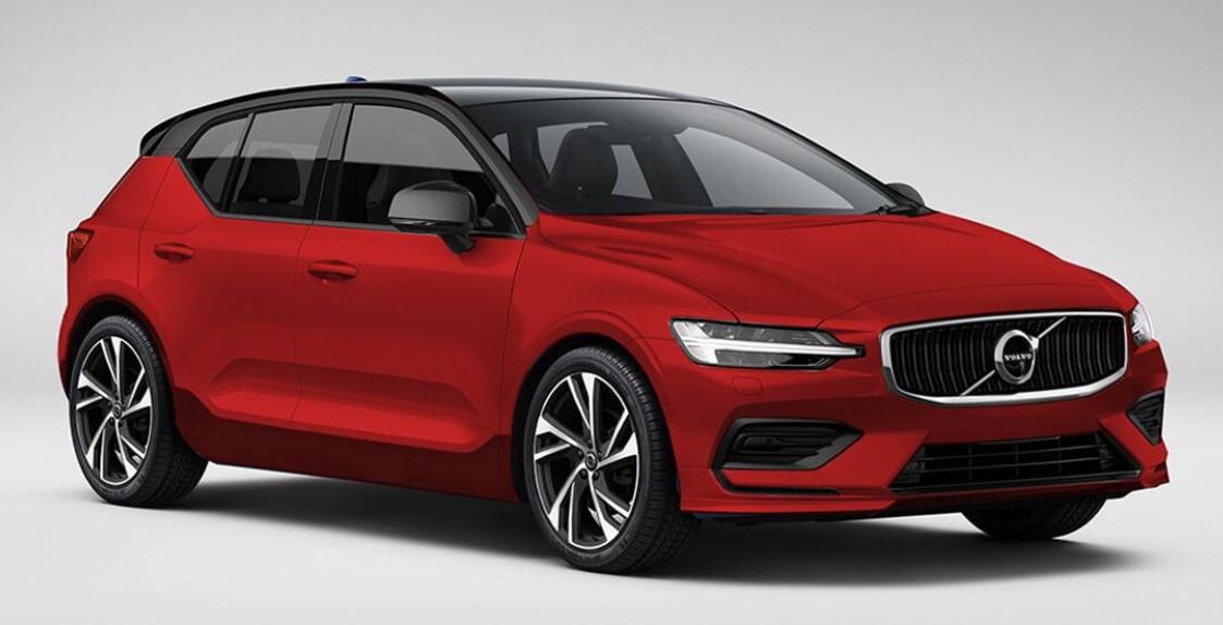 New Volvo V40 2020