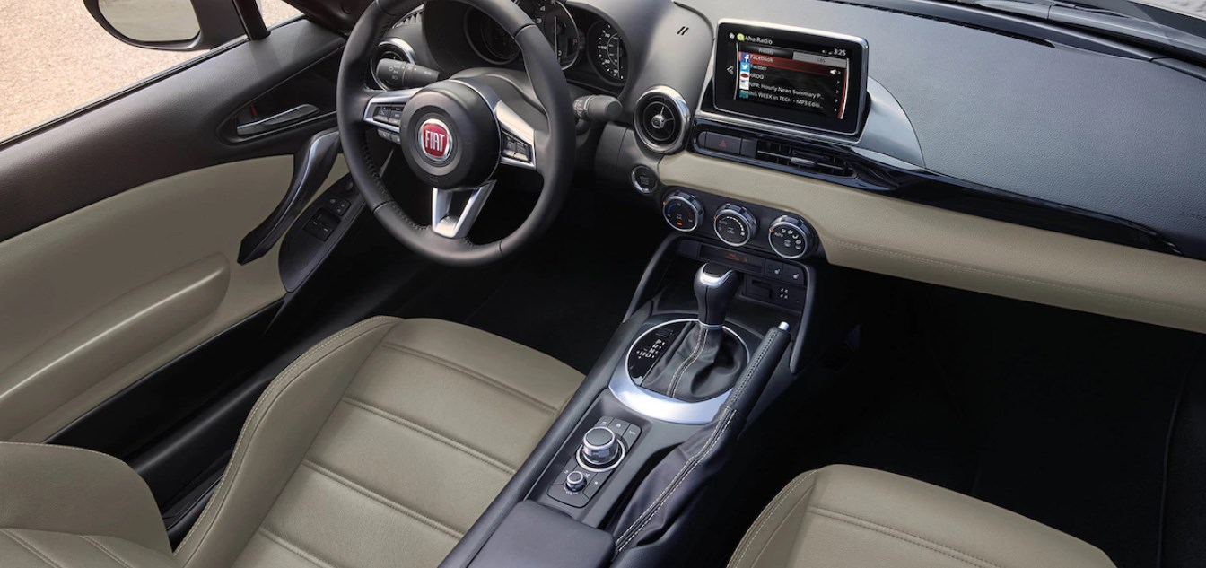 2019 Fiat 124 Spider Abarth Interior