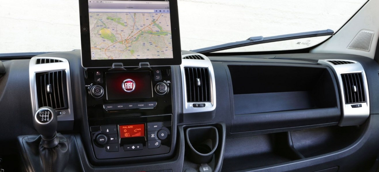 2019 Fiat Ducato Interior
