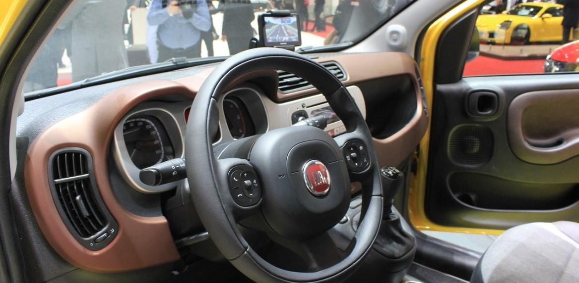 2019 Fiat Panda Interior