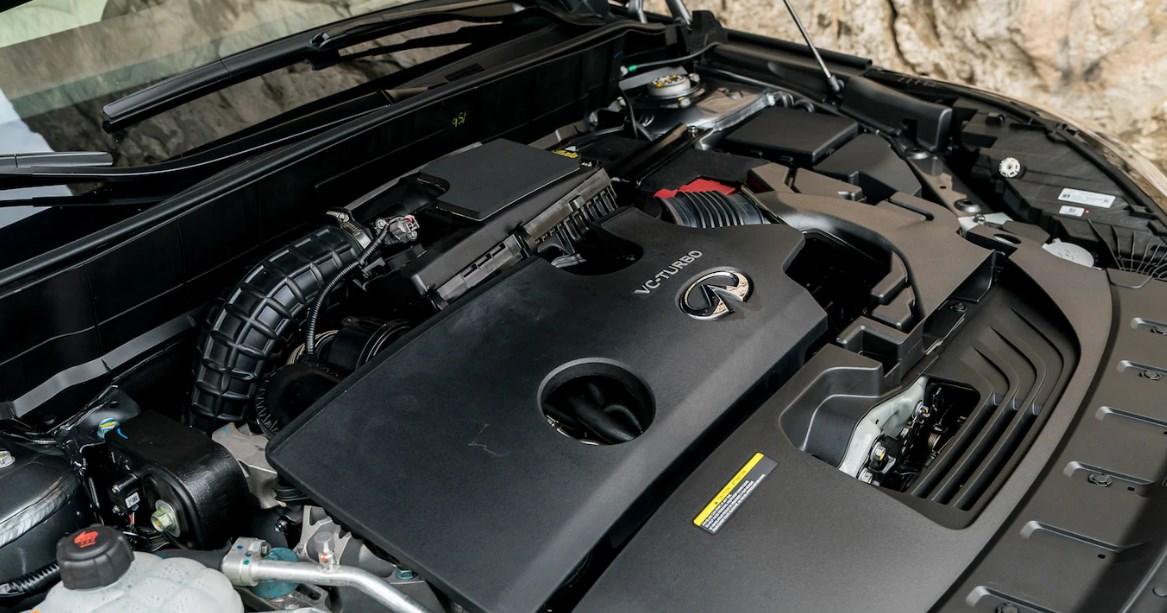 2019 Infiniti QX50 Luxe Engine