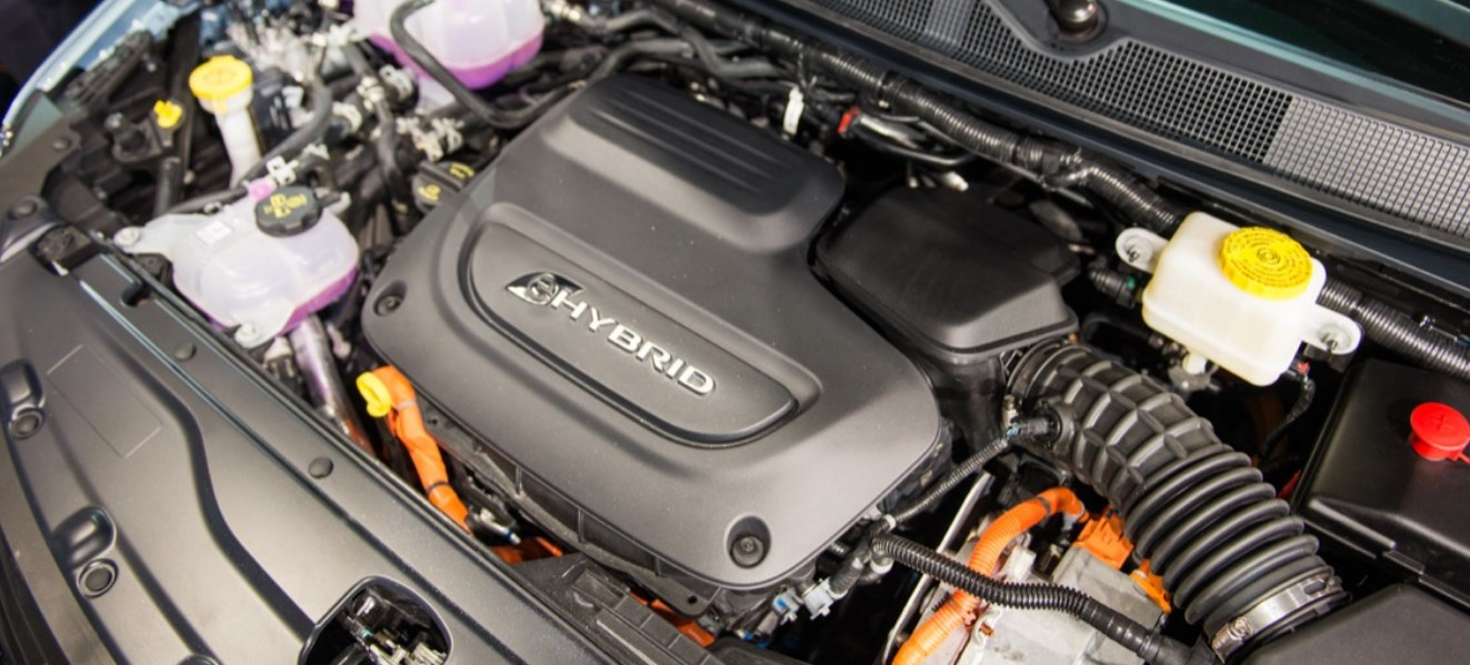2020 Chrysler Pacifica Engine