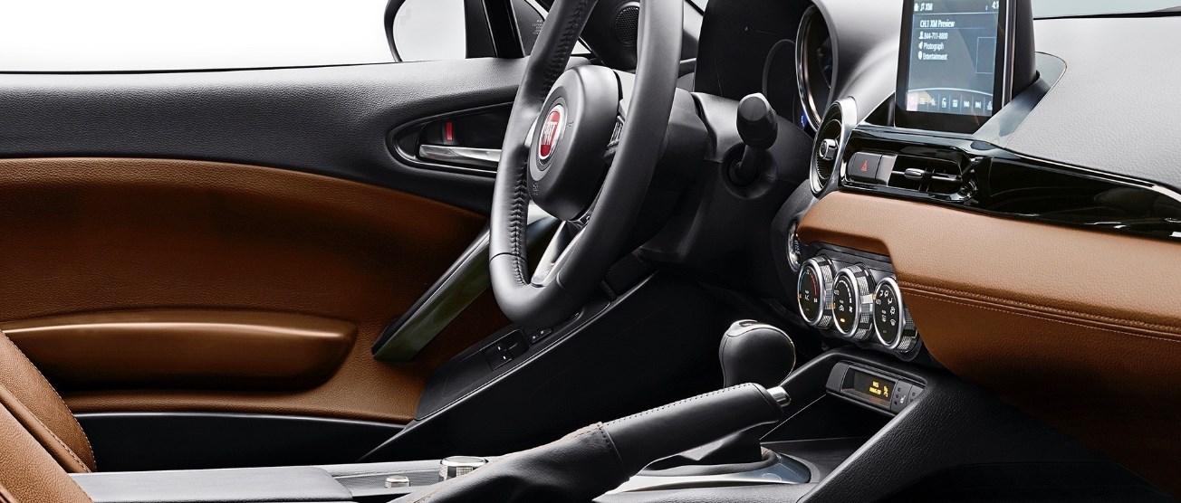 2020 Fiat 124 Interior