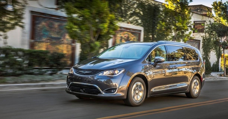 2019 Chrysler Pacifica Exterior