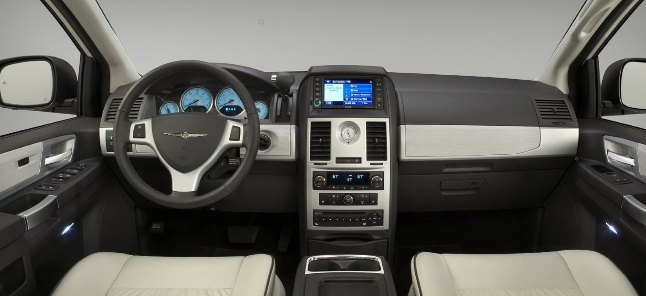 2019 Chrysler Town And Country Interior