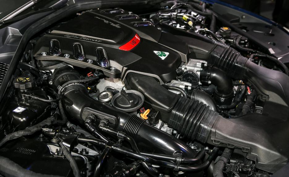 2020 Alfa Romeo Giulia Engine