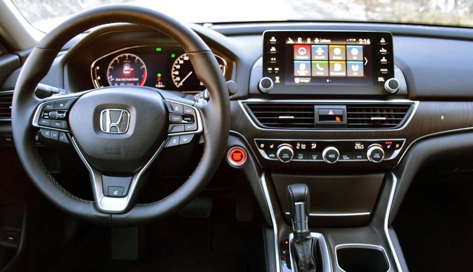 2020 Honda Accord Coupe Interior