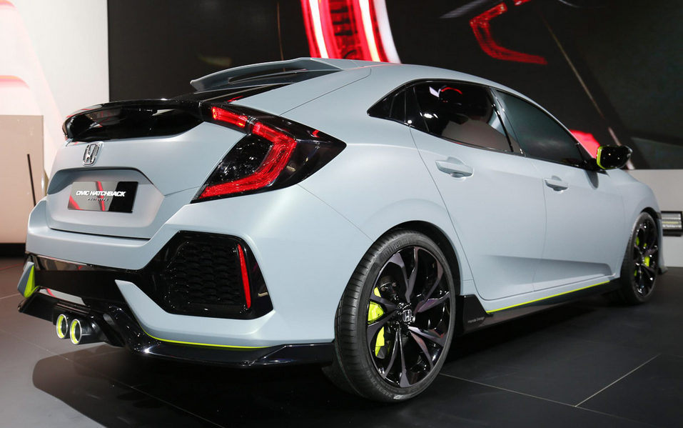 2020 Honda Civic Hatchback Concept