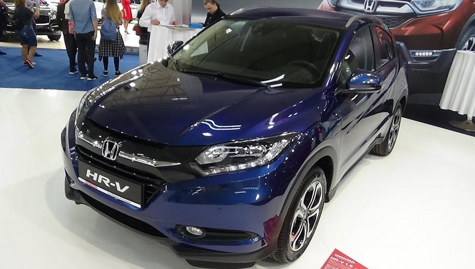 2020 Honda HRV Redesign Exterior