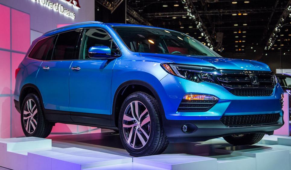 2020 Honda Pilot Hybrid Exterior