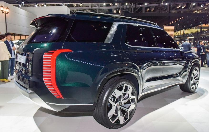 2020 Hyundai 3 Row SUV Exterior