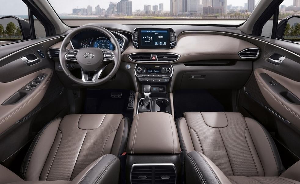 2020 Hyundai 7 Seater Interior