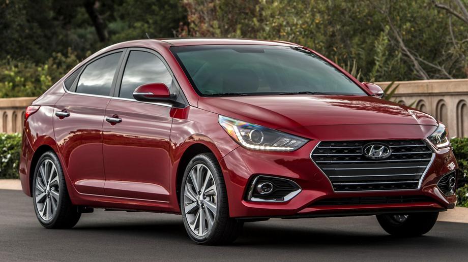 2020 Hyundai Accent Exterior