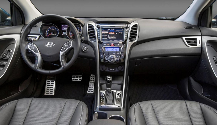 2020 Hyundai Elantra GT Interior