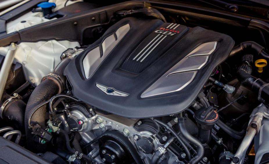 2020 Hyundai G80 Engine