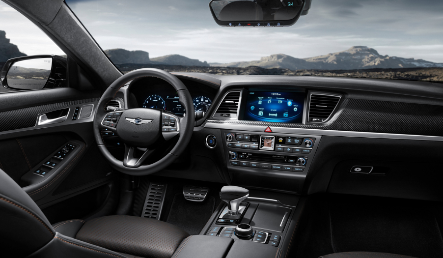 2020 Hyundai G80 Interior