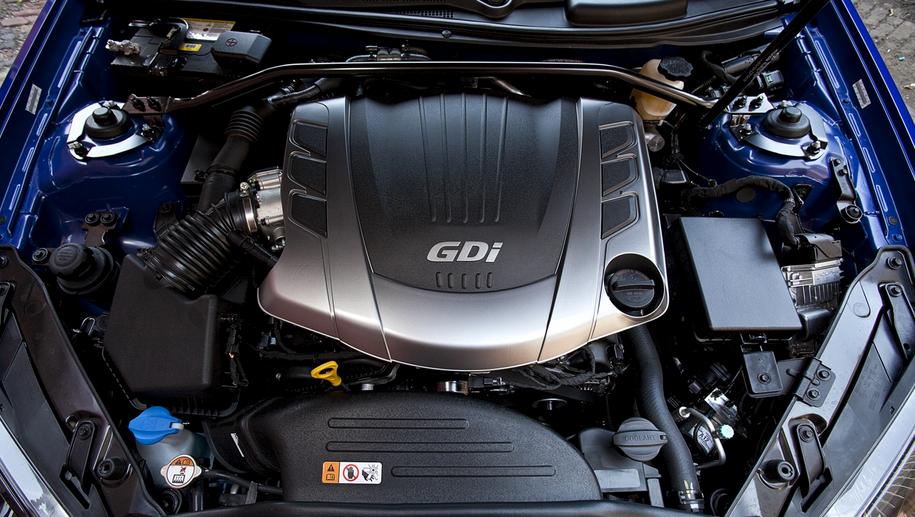 2020 Hyundai Genesis Coupe Engine