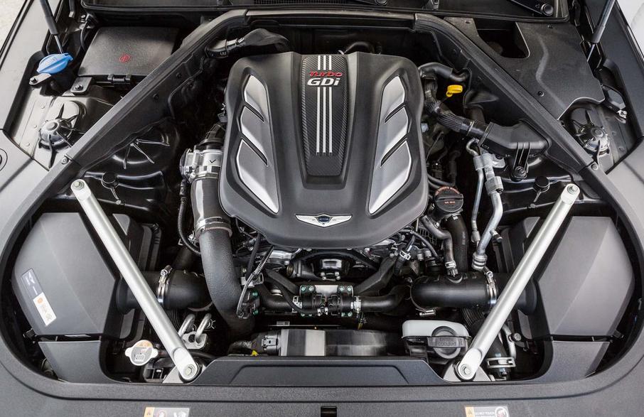 2020 Hyundai Genesis G90 Engine