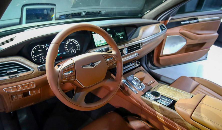 2020 Hyundai Genesis G90 Interior