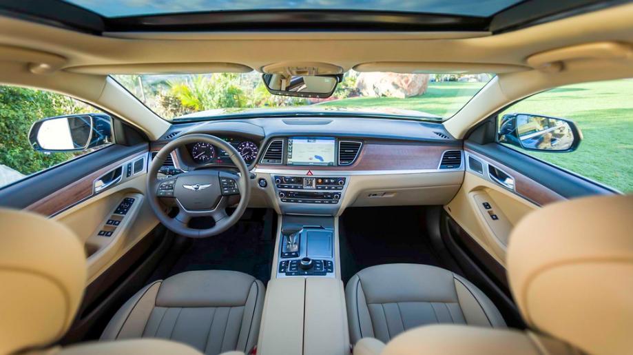 2020 Hyundai Genesis Interior