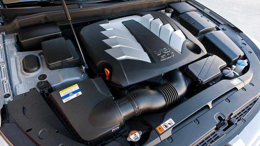 2020 Hyundai Genesis SUV Engine