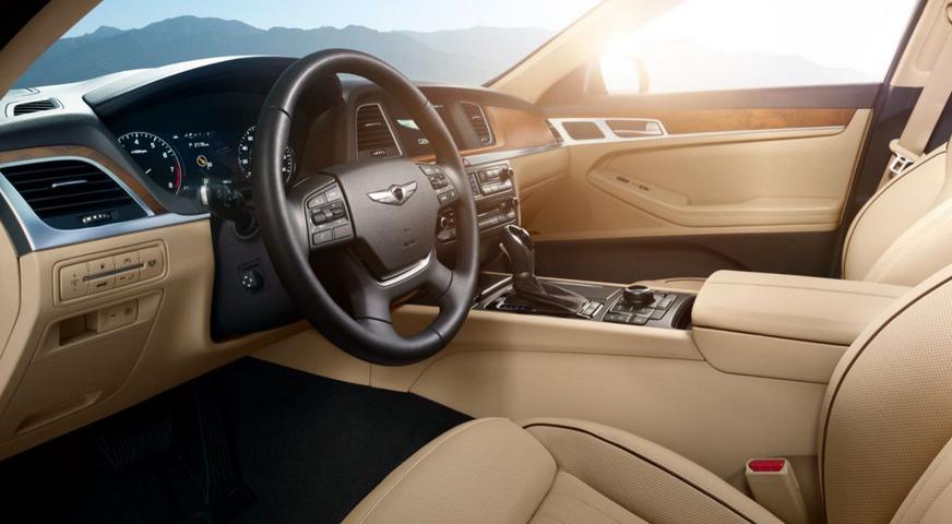 2020 Hyundai Genesis SUV Interior