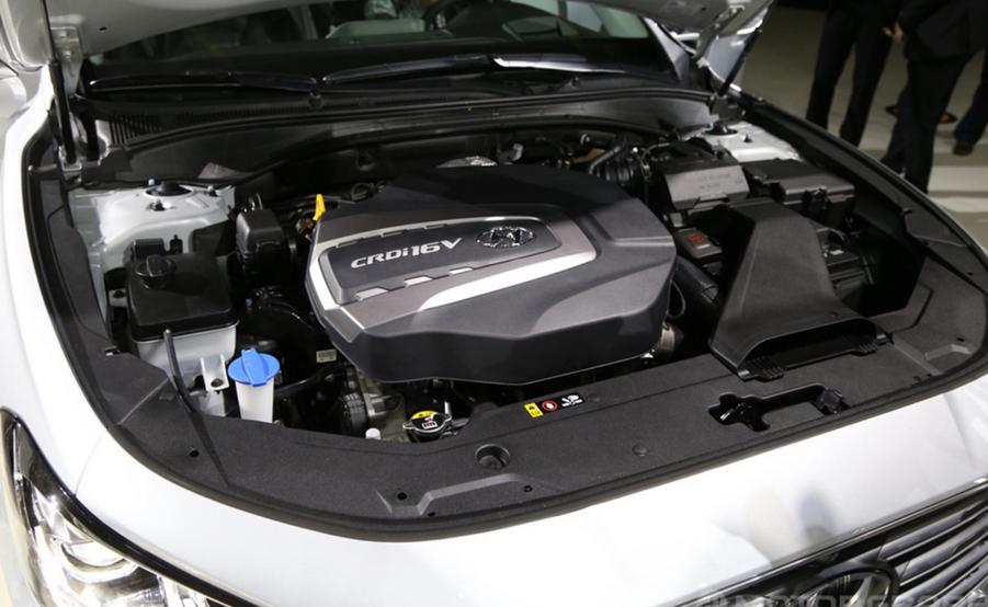 2020 Hyundai Grandeur Engine