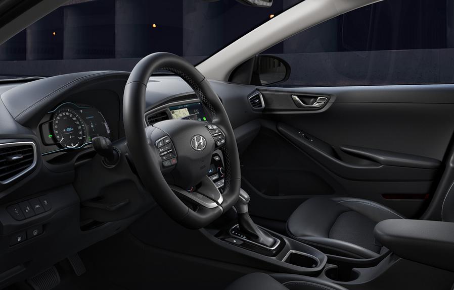 2020 Hyundai Ioniq Electric Interior