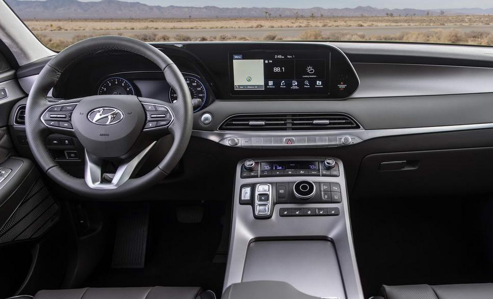 2020 Hyundai Large SUV Interior