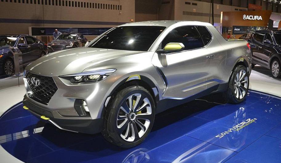 2020 Hyundai Pickup Exterior