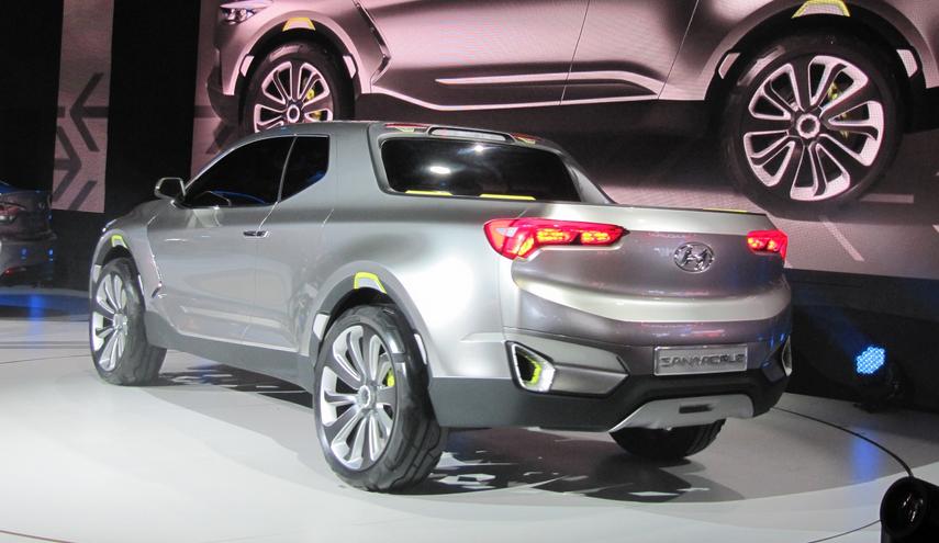 2020 Hyundai Pickup Truck Concept