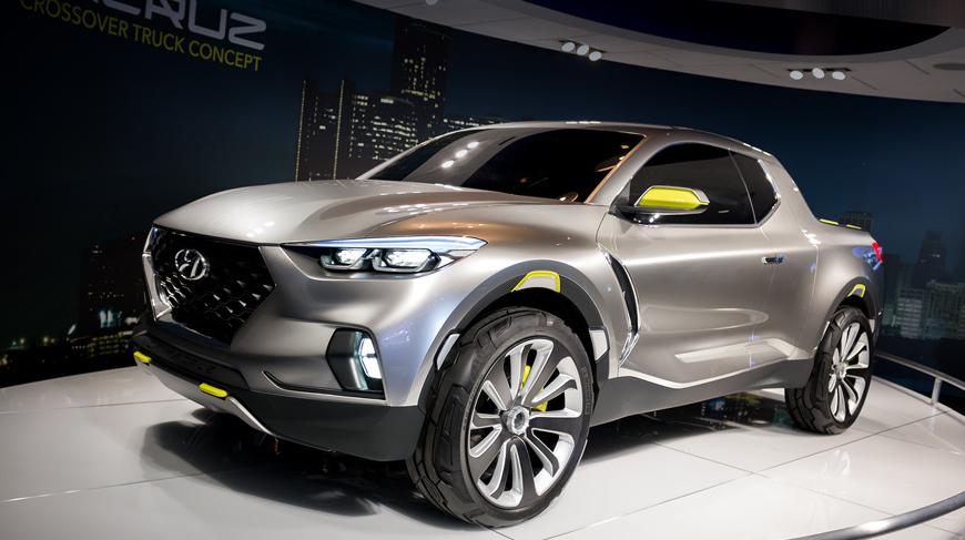 2020 Hyundai Pickup Truck Exterior