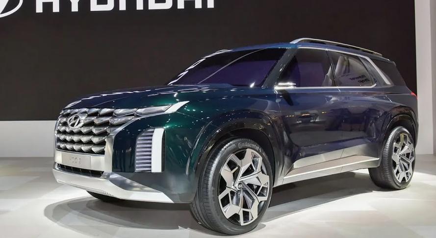 2020 Hyundai SUV Exterior