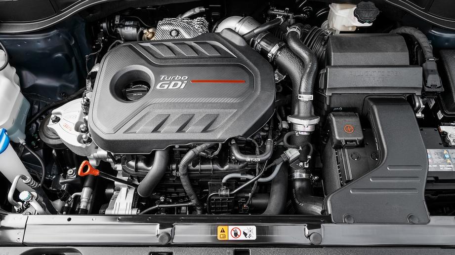 2020 Hyundai Santa FE Sport Engine
