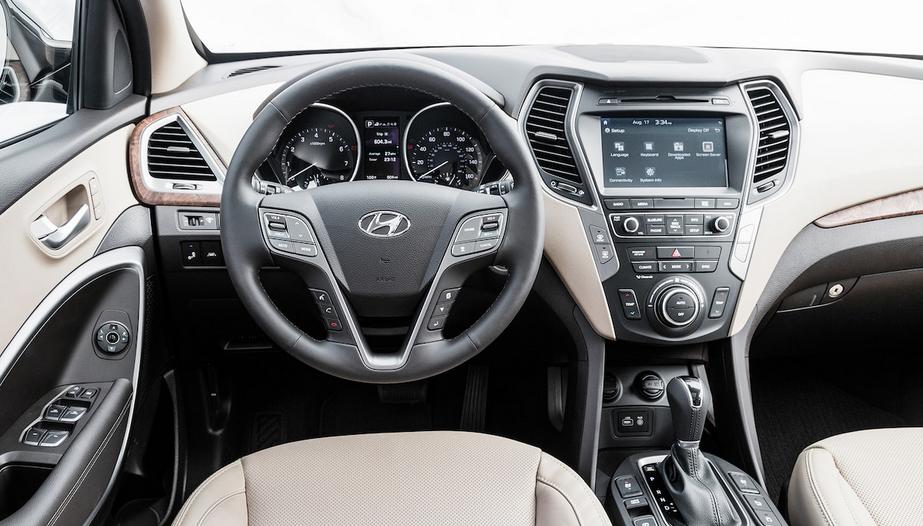 2020 Hyundai Santa FE Sport Interior
