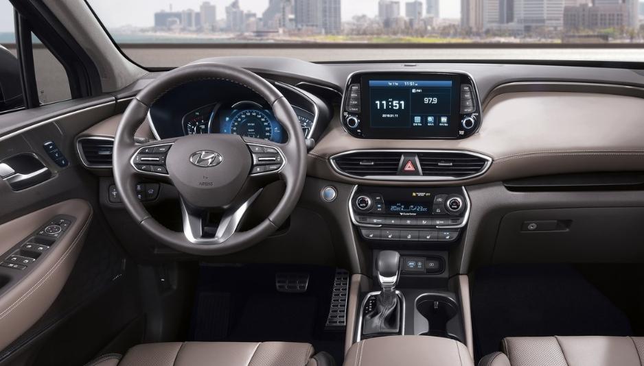2020 Hyundai Santa FE XL Interior