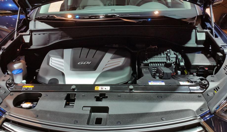 2020 Hyundai Santa Fe Diesel Engine