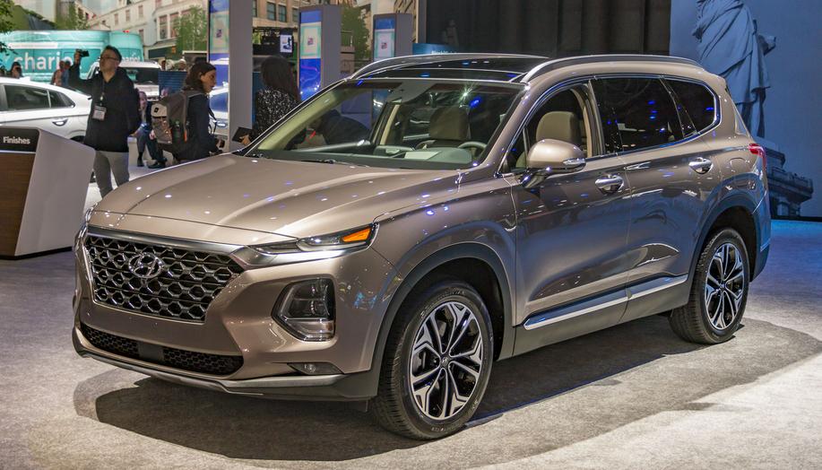 2020 Hyundai Santa Fe Diesel Exterior