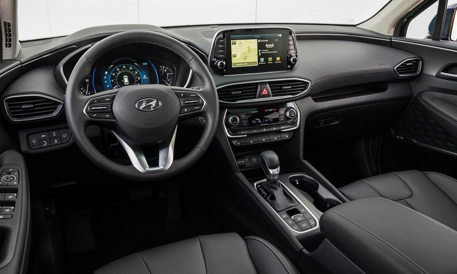 2020 Hyundai Santa Fe Diesel Interior