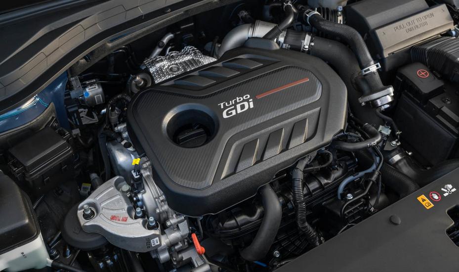 2020 Hyundai Santa Fe N Engine